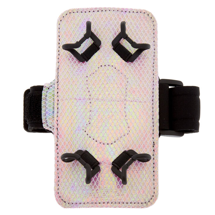 Pink Holographic Arm Band,