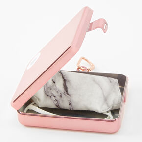 Chromatic Face Mask Case - Rose Gold,