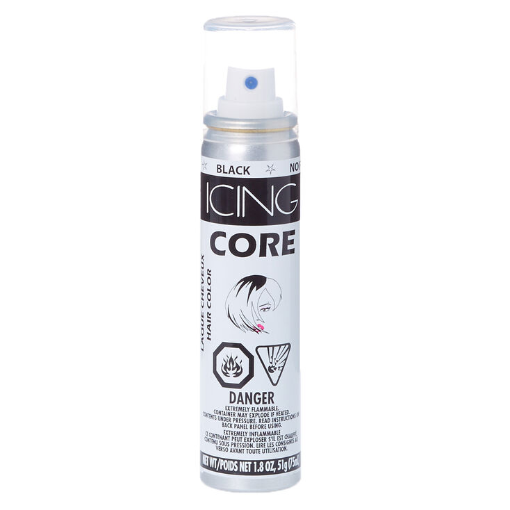 Black Core Hair Color Spray,