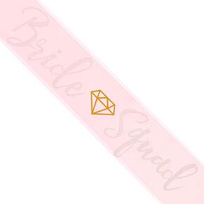 Pink Bride Squad Sash,