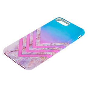 Metallic Ombre Geometric Phone Case,