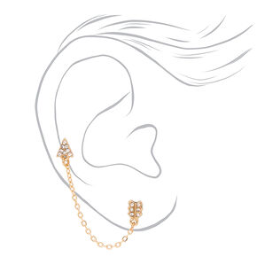 Gold Embellished Mystical Mixed Earrings - 9 Pack,