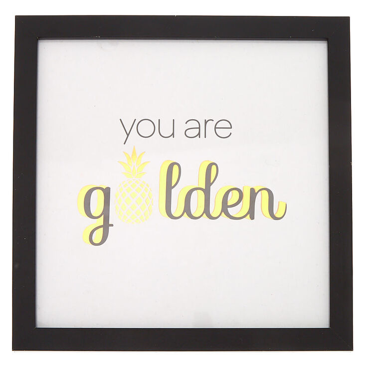 You Are Golden Wall Art,