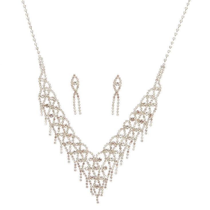 Valentina Stone Fringe Jewelry Set,