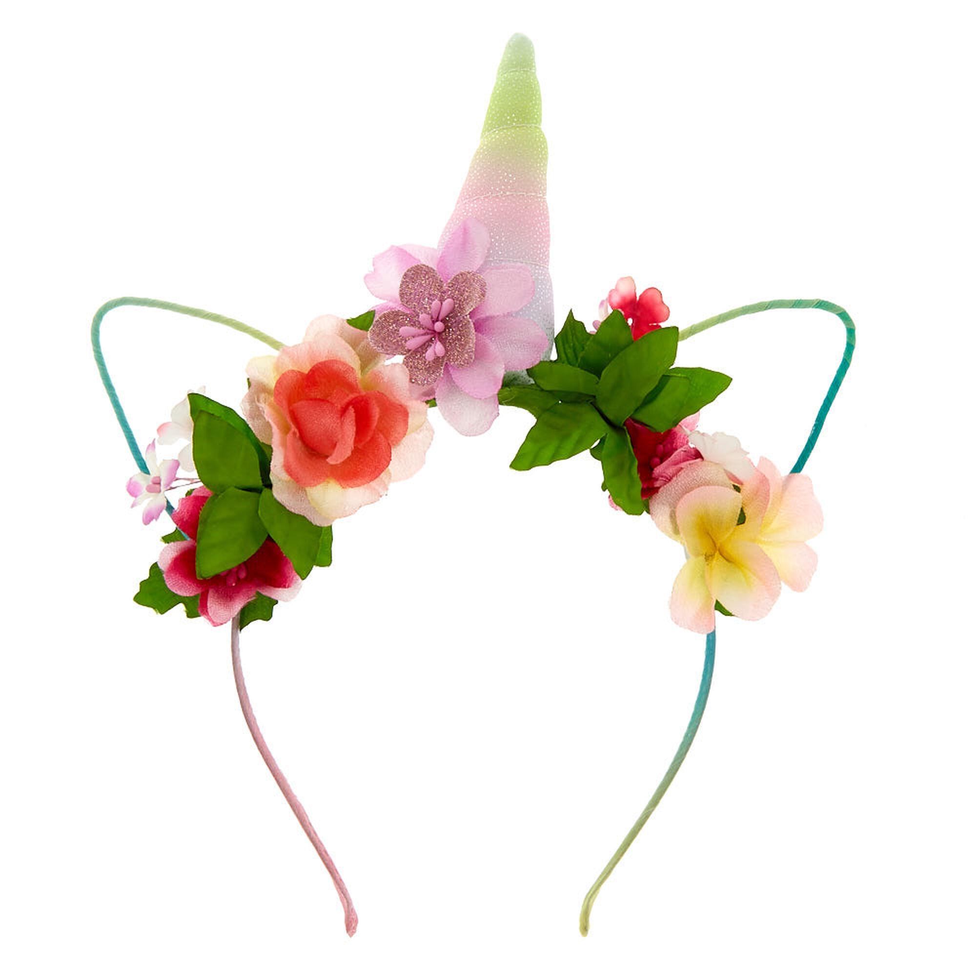 Flower crown unicorn headband icing us flower crown unicorn headband izmirmasajfo