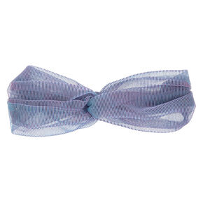 Shimmer Twist Headwrap - Lilac Purple,