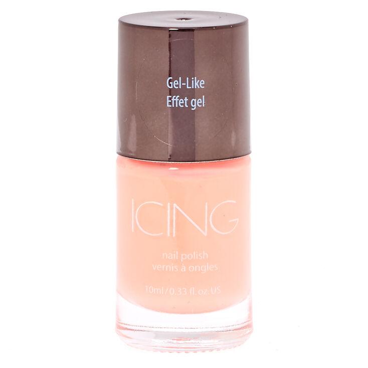 Gel Like Coral Nail Polish,