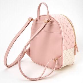Silver Flower Vine Chain Bracelet - White,