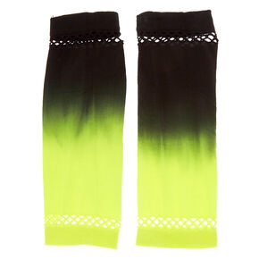 Ombre Fishnet Arm Warmers,