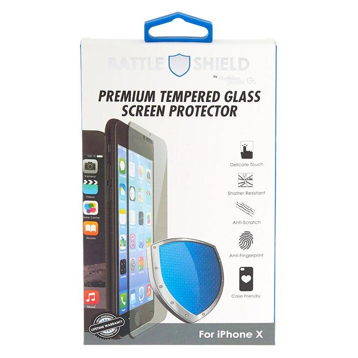 Gabba Goods® Premium Tempered Glass Screen Protector - iPhone® X,