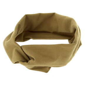 Wide Jersey Headwrap - Sage,
