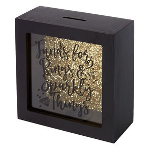 Rings & Sparkly Things Shadow Box Bank,