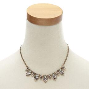Vintage Style Bronze Floral Jewelry Set,