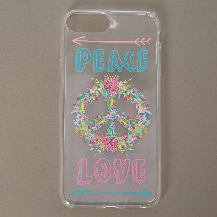 Peace & Love Phone Case,