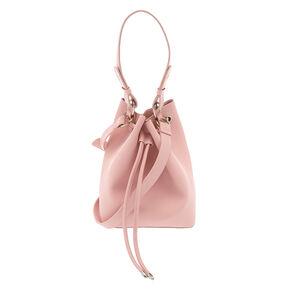 Bucket Crossbody Bag - Pink,