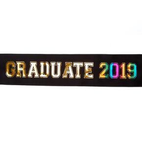 Graduate 2019 Sash - Black,
