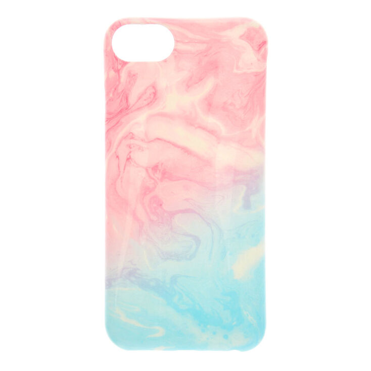 Pastel Marbled Swirl Phone Case - Fits iPhone XR,