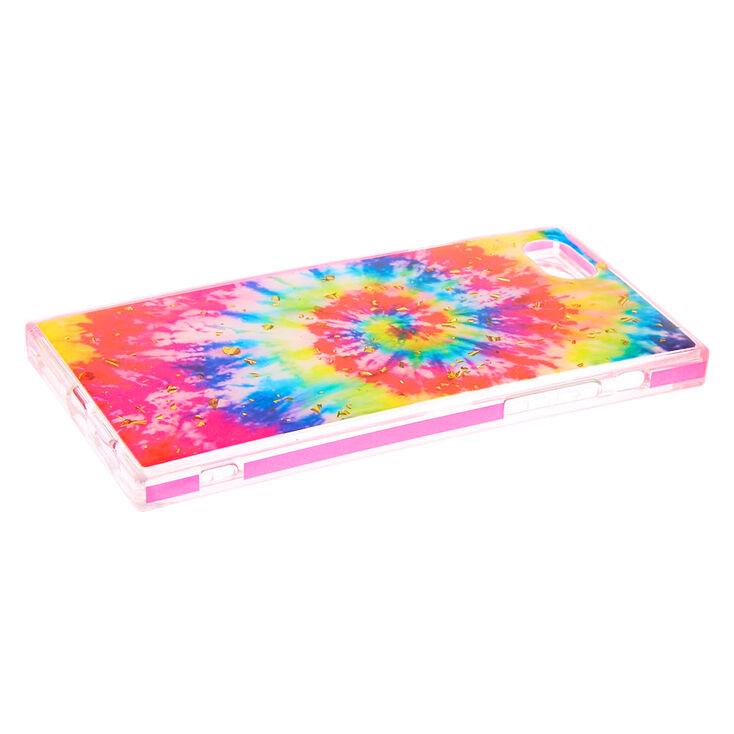 Square Rainbow Tie Dye Phone Case - Fits iPhone 6/7/8/SE,