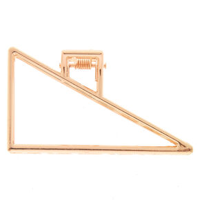 Rose Gold Geometric Hair Claw,