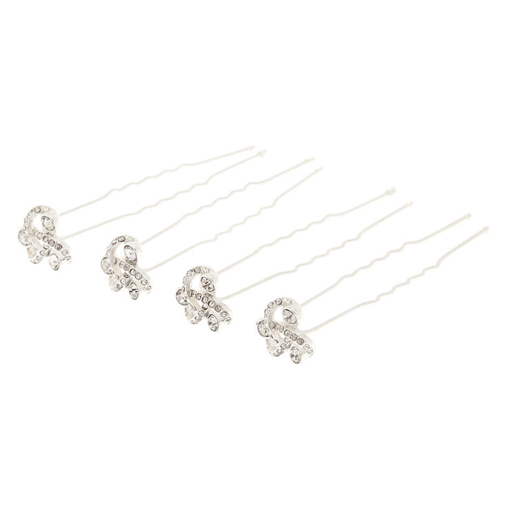Clover Knot Hair Pins,