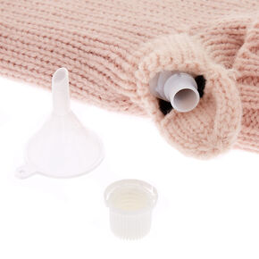 Blush Pink Mitten Flask,