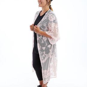 Lace Kimono - Blush,