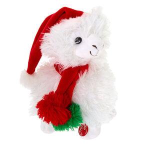Christmas Llama Dancing & Singing Plush Toy,