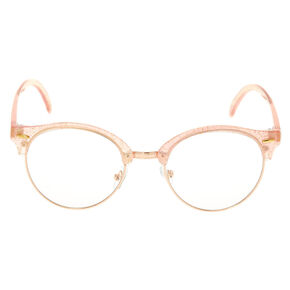 Rose Gold Glitter Frames - Pink,