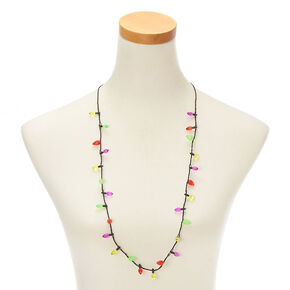 Mini Christmas Lights Light Up Necklace,