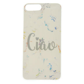 Ciao Marble Phone Case - White,