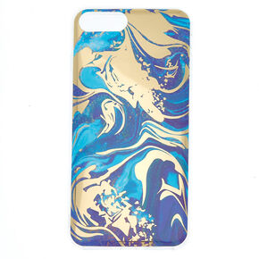 Mirrored Marble Phone Case - Fits iPhone 6/7/8 Plus,