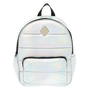 Holographic Functional Backpack - Silver,