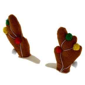 Reindeer Antler Snap Clips - 2 Pack,