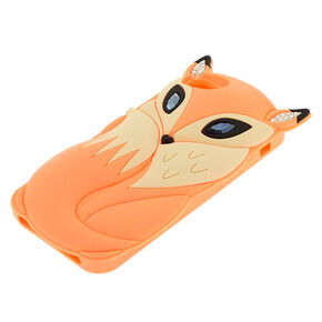 Farrah The Fox Phone Case - Coral,
