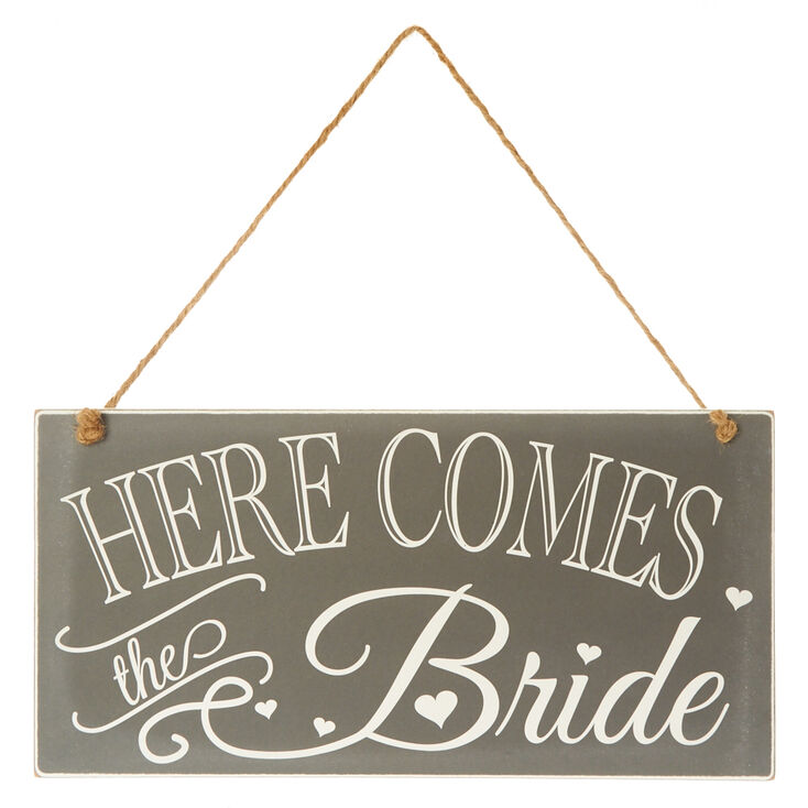 Here Comes The Bride Sign,