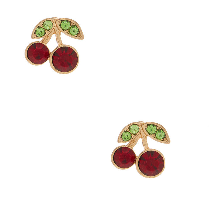 Cherry Stud Earrings,