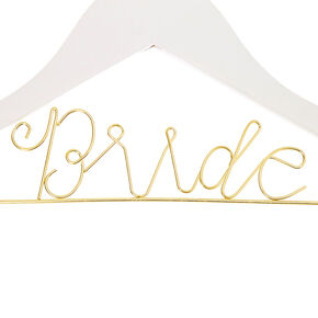 Bride Hanger - White,