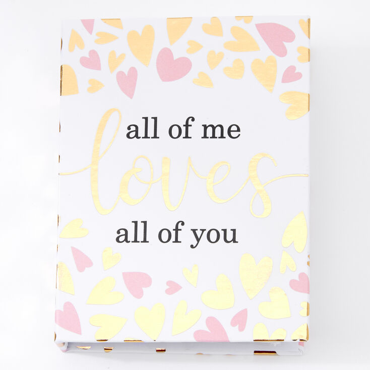 All Of Me Loves All Of You Hearts Instax Photo Album,