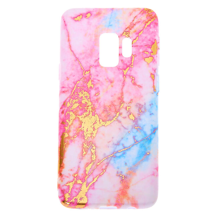 Pink Pastel Marble Phone Case - Fits Samsung Galaxy S9,