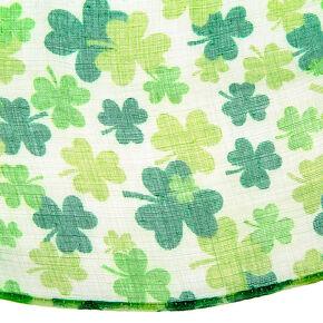 Shamrock Infinity Scarf - Green,