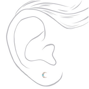 Silver Western Boho Stud Earrings - 20 Pack,