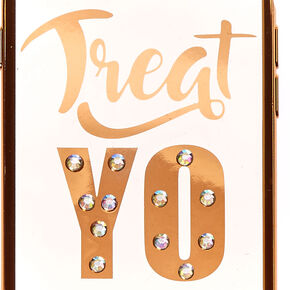 Treat Yo Self Phone Case - Fits iPhone 6/7/8,