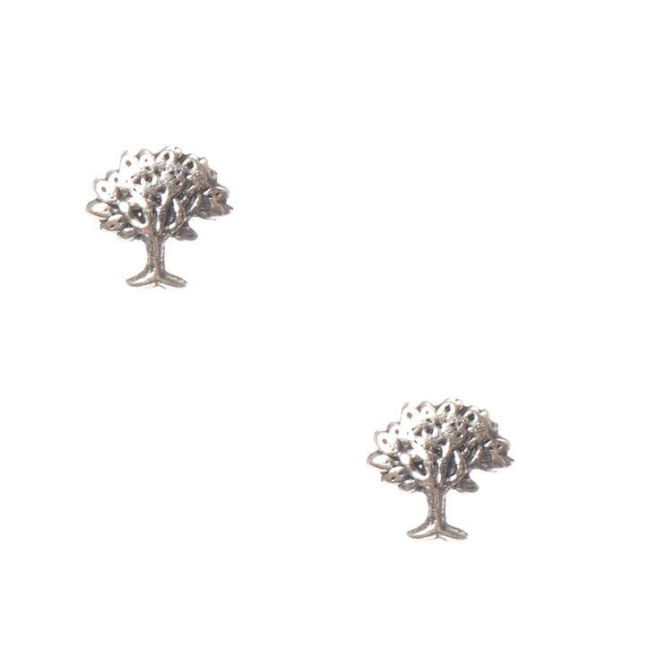 925 Sterling Silver Wishing Tree Earrings,