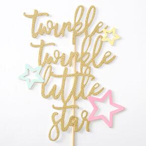 Twinkle Twinkle Little Star Cake Topper,