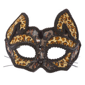 Leopard Print Halloween Mask,