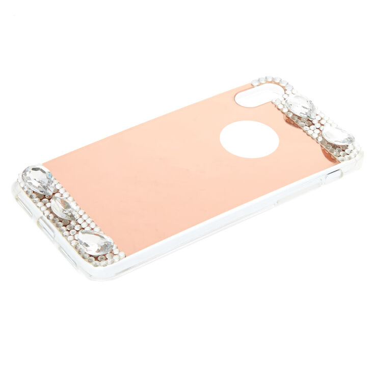 Glam Rose Gold Phone Case - Fits iPhone X/XS,