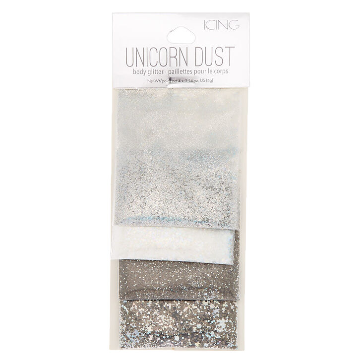 Neutral Unicorn Dust Body Glitter - 4 Pack,