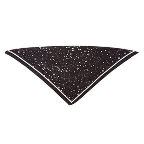Constellation Neckerchief - Black,