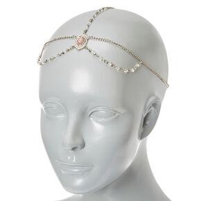 3 Way Silver Headwrap,