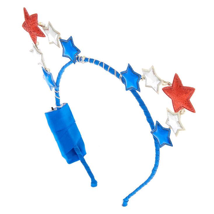 Star Light Up Cat Ears Headband,